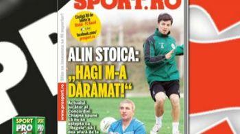 "Citeste luni in editia tiparita ProSport: Romanul care i-a dat gol lui Real Madrid in Liga se ia de Hagi: ""Mi-a daramat cariera"""