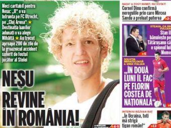 Nesu REVINE in Romania! U Cluj ii da o PALMA imensa Stelei! Va juca un amical cu Utrecht pentru Nesu!
