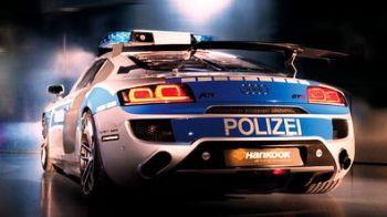 """FOTO: Sase, garda ! De azi,nemtii te alearga cu """"racheta"""" pe Autobahn !"""