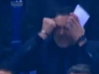 VIDEO! Ilie Stan a explodat in tribune la Schalke - Steaua! Vezi cum a reactionat la golul superb al lui Rusescu