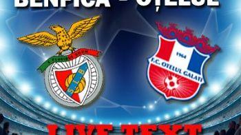 ZEROtelul Galati: Benfica 1-0 Otelul! Romania nu ia niciun punct anul asta in Liga! Ce ghinion: e singura echipa batuta de Man. United :)