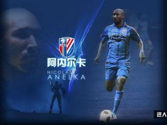 Anelka, prezentat la Shanghai Shenhua! Chinezii ii dau 10,5 milioane pe an si vor sa mai aduca un star de la Chelsea!