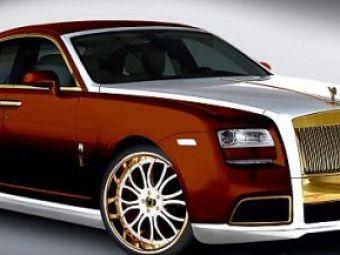 FOTO INGROZITOR! Cel mai VULGAR Rolls Royce din lume! Da cineva 1,2 mil. de euro pe el?