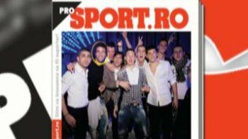 Sambata in Pro Sport: Imagini de senzatie cu stelistii in club! Au petrecut cu dusmanii de la Larnaca si cu PITICUL PORNO!