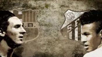 VIDEO! A rezolvat duelul cu Ronaldo in El Clasico, urmeaza Neymar la rand! Trailerul GENIAL care anunta razboiul dintre Messi si Neymar: