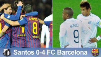 """Neymar se inchina in fata ZEULUI Messi: """"Azi am invatat sa jucam fotbal! Nimeni nu se poate pune cu Barca!"""""""