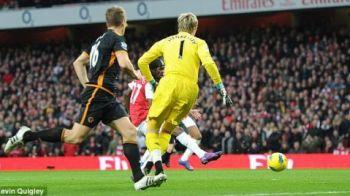 VIDEO Portarul-MIRACOL de Craciun! Arsenal n-a putut sa treaca de Hennessey! Tunurile lui Wenger au gresit tinta cu Wolves!