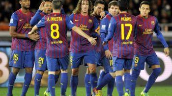 VIDEO: Fabregas si Messi, duble si goluri GENIALE: Barcelona 4-0 Osasuna!