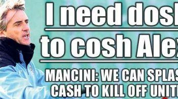 """CULMEA BANILOR in fotbal! Au dat peste 600mil € pe jucatori dar nu pot umple banca de rezerve! Mancini: """"Mai am nevoie de transferuri pentru titlu"""""""