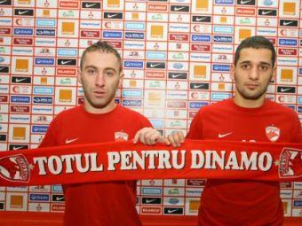 FOTO: Primele imagini OFICIALE cu Stratila si Curtean in tricoul lui Dinamo! Vezi cum i-a alergat Ciobotariu prin padure