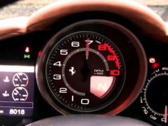 VIDEO: Ringtone bestial pentru telefonul tau! Primul Ferrari din istoriecu motor V8 in fata suna criminall!