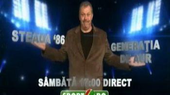 """VIDEO Steaua l-a transferat pe """"Hagi"""" si a castigat meciul cu Generatia de Aur! Vezi aici cele mai tari momente de la meciul caritabil pentru micuta Rotariu!"""