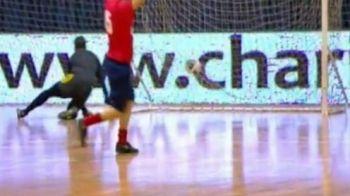 VIDEO Momente de MAGIE cu marele absent de la Sevilla! Vezi ce gol a dat Tudorel Stoica pentru micuta Kassandra Rotariu la Polivalenta!