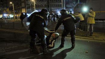 Ei au pornit revoltele din centrul capitalei! Jandarmii au identificat suporteri de la 3 echipe din Liga I!