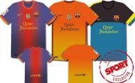 FOTO PREMIERA! Vezi cum vor arata tricourile Stelei in viitor! Barcelona si-a prezentat noile echipamente!