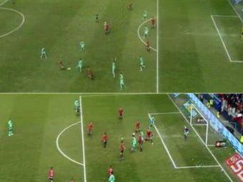 """Toata Barcelona URLA catre arbitri: """"Por que?!"""" Cele 2 faze controversate care ii pot aduce titlul Realului:"""