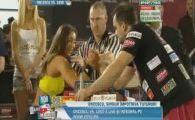 VIDEO HOT! Miss bikini Romania a venit sa-l puna pe Oncescu la skandenberg imbracata SUPER SEXY! Vezi aici duelul
