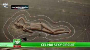 SUPER VIDEO: Formele uneia dintre cele mai SEXY femei din America au devenit circuit de curse :)