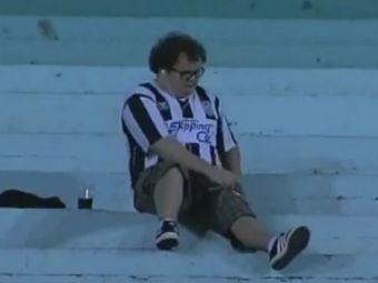 Asa arati si tu cand echipa ta favorita e UMILITA? El e cel mai deprimant suporter din lume! Vezi aici un clip de MILIOANE