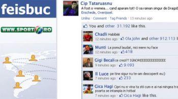 """""""Siiiingurrr, atat de singur!!"""" Tatarusanu a primit IGNORE de la Becali de Dragobete! Urmarea GAFEI din meciul cu Twente, pe facebook:"""