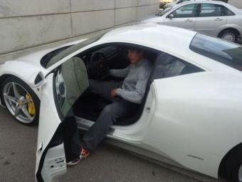FOTO Nadal si-a tras un super bolid de 200.000 de euro! In ce masina a venit la ultimul antrenament!