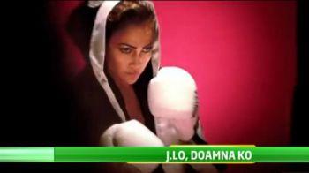 VIDEO! Pictorial HOT cu Jennifer Lopez de martisor! S-a transformat in cea mai sexy luptatoare de box din lume
