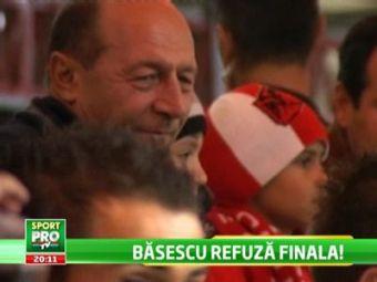 Basescu ii lasa singuri pe Regele Juan Carlos si pe Printul Charles pe National Arena! De ce refuza biletul la finala Europa League