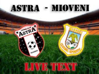 Astra intoarce rezultatul dupa ce a luat gol in secunda 15 dar pierde un jucator pentru meciul cu Steaua! Super-gol Spadacio! Astra 3-1 Mioveni!