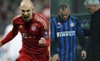 Scene dramatice in Liga: Inter, eliminata in min 93: 2-1 cu Marseille, Bayern face MACEL cu Basel: 7-0, 4 goluri Gomez! VIDEO