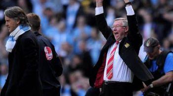 City are un nou RAZBOI cu United! Mancini vrea sa il scoata pe Ferguson la pensie! Ce jucator incearca sa-i fure: