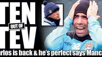 In iarna era un TRADATOR, acum e SALVATOR! Tevez revine azi cu Chelsea! Ce a anuntat Mancini