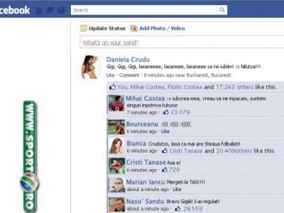 "Cruduta si Mihai Costea plang impreuna pe ""Facebook"", Iancu i-a sfatuit sa mearga la TAS! ""Bravo, Gigi, i-ai regulat!"" :)"
