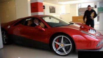 VIDEO: Unul dintre cei mai mari artisti si suporteri din Premier League si-a luat un Ferrari de vorbesti singur!