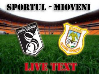 Spectacol total in derby-ul durerii :) Sportul iese de la retrogradare: Sportul 0-0 Mioveni!