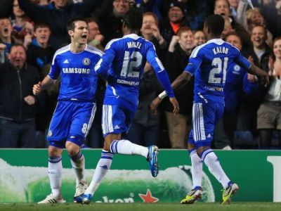 Chelsea si Real in semifinale! Kaka si CR7 reusesc goluri de senzatie, Chelsea se califica in min 92! Chelsea 2-1 Benfica; Real Madrid 5-2 APOEL! VIDEO
