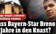 Breno pentru noi este Balotelli doi :) Jucatorul lui Bayern risca sa stea pana la 15 ani in inchisoare dupa ce si-a dat foc la casa: