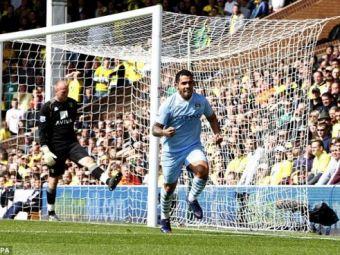 Tevez, FABULOS! Mancini regreta si acum l-a tinut pe bara 8 luni! Trei goluri in Norwich 1-6 City!