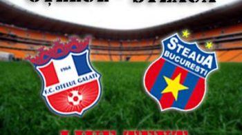 Miracol de Paste! Steaua castiga in repriza a doua si se apropie la 3 puncte de CFR! Otelul 1-2 Steaua! Au marcat Tatu si Mihai Costea!