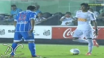 VIDEO Neymar COPIAZA un atacant LEGENDAR! Cine l-a invatat sa dribleze ca un geniu!