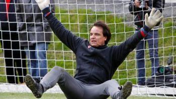 """VIDEO FABULOS! """"Daca imi dai gol din penalty, iti dau Ferrari-ul!"""" Pariu GENIAL intre patronul de 55 de ani si jucatorul sau! Vezi cine a castigat:"""