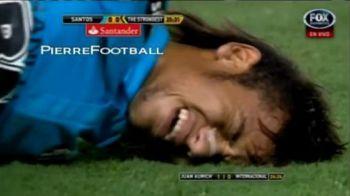 VIDEO Neymar, cu ochii in lacrimi! Si-a scos din minti adversarii cu un SUPER DRIBLING si a fost luat la bataie! Ce lovituri a primit: