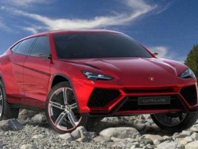 FOTO Primele imagini cu SUV-ul TURBAT pregatit de Lamborghini! Cum arata bijuteria de 600 de cai!