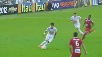 Neymar e pur si simplu FABULOS! A dat un nou super-gol dupa ce a ametit apararea adversa! VIDEO