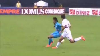 VIDEO! Neymar nu se lasa pana nu e LINSAT! Si-a innebunit un adversar dupa ce l-a driblat de 5 ori in cateva secunde! Cum a platit pentru aceasta faza: