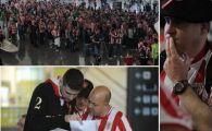 FOTO: Imaginile disperarii! Suporterii basci sunt BLOCATI pe aeroportul din Bilbao! Otopeni, trafic RECORD! Ce zic sefii aeroportului: