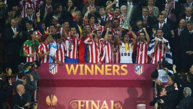 VIDEO Atletico o DISTRUGE pe Bilbao la Bucuresti si cucereste Europa League! Atletico Madrid 3-0 Athletic Bilbao! Falcao, dubla de senzatie! Diego a inscris superb!