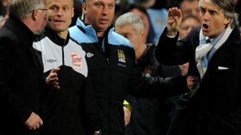"""Jocul mintii, tactica """"CIOCU MIC""""! Mancini ii raspunde lui Ferguson: """"Eu sunt omul care stie sa scrie istorie!"""" Declaratia dinaintea meciului care ii poate aduce titlul:"""