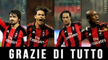 """Ziua in care URIASII spun """"GAME OVER""""! Un roman surpriza va fi pe teren la retragerea a 5 jucatori de la AC Milan! Cine vine in vara in locul lui Gattuso:"""