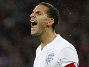 """Scandalul cu Terry i-a fost fatal! Rio Ferdinand va fi lasat acasa la EURO 2012! Vezi ce alte doua nume """"grele"""" raman acasa:"""