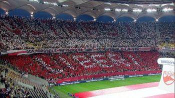 SUPER Coregrafii Dinamo si Rapid! Momentul in care 20 de mil de romani s-au ridicat in picioare sa cante IMNUL! IMAGINI GENIALE